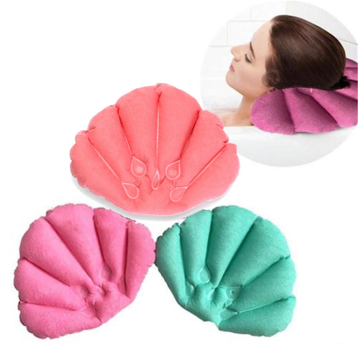 pvc oreiller de bain baignoire spa coussin appuie t te cou reste 2x ventouse achat vente. Black Bedroom Furniture Sets. Home Design Ideas