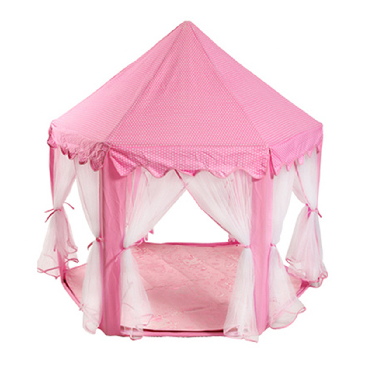 tente de jeu ch teau tipi camping princesse fille rose achat vente tente tunnel d 39 activit. Black Bedroom Furniture Sets. Home Design Ideas