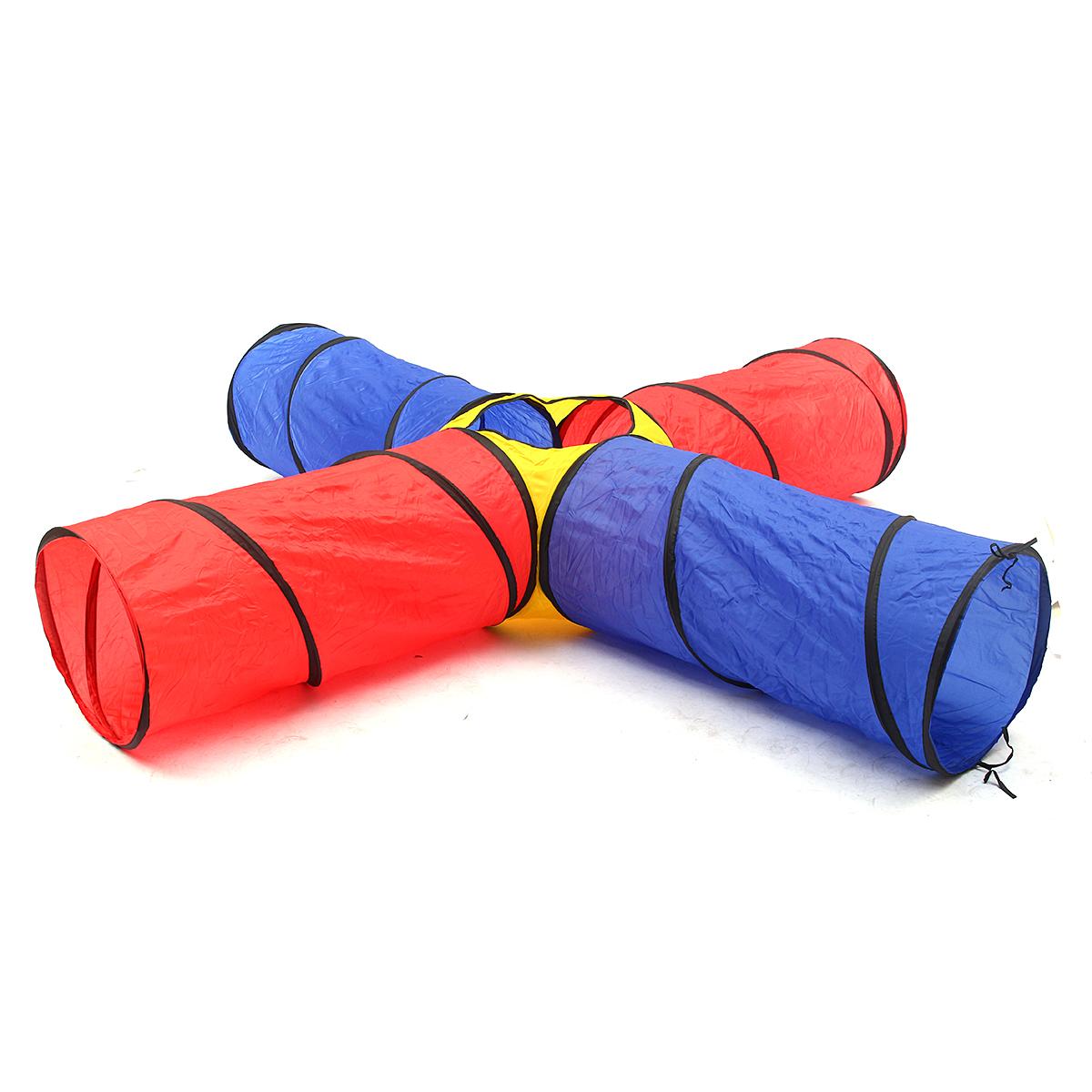 4 en 1 tente de jeux forme de tunnel enfant b b jouet jardin achat vente tente tunnel d. Black Bedroom Furniture Sets. Home Design Ideas