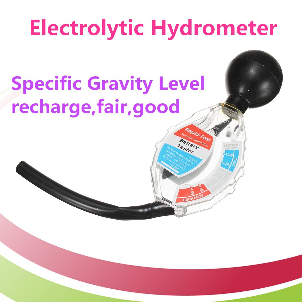 Электролитический гидрометр Профессиональный тестер глубокого цикла батарей