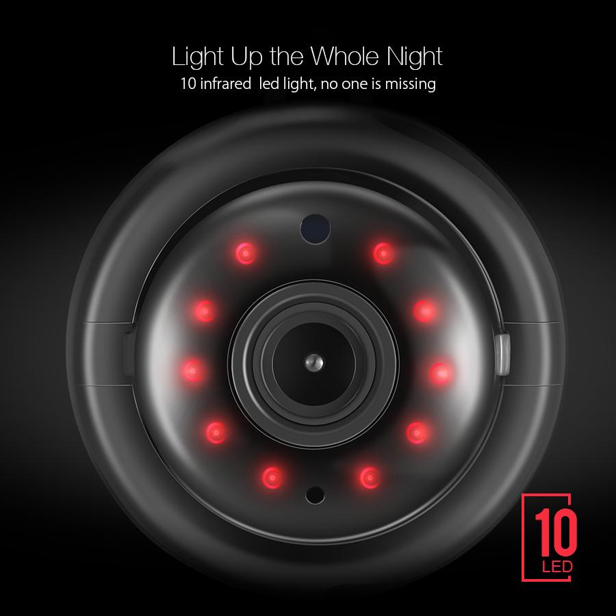 Digoo DG-M1Q 960P Wireless WIFI Smart IP Camera Home Security IR Night  Vision US | PrestoMall - Webcams