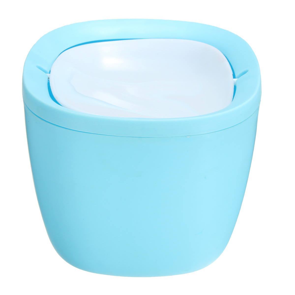 Retro Trash Cans Kitchen Bedroom Garbage Can