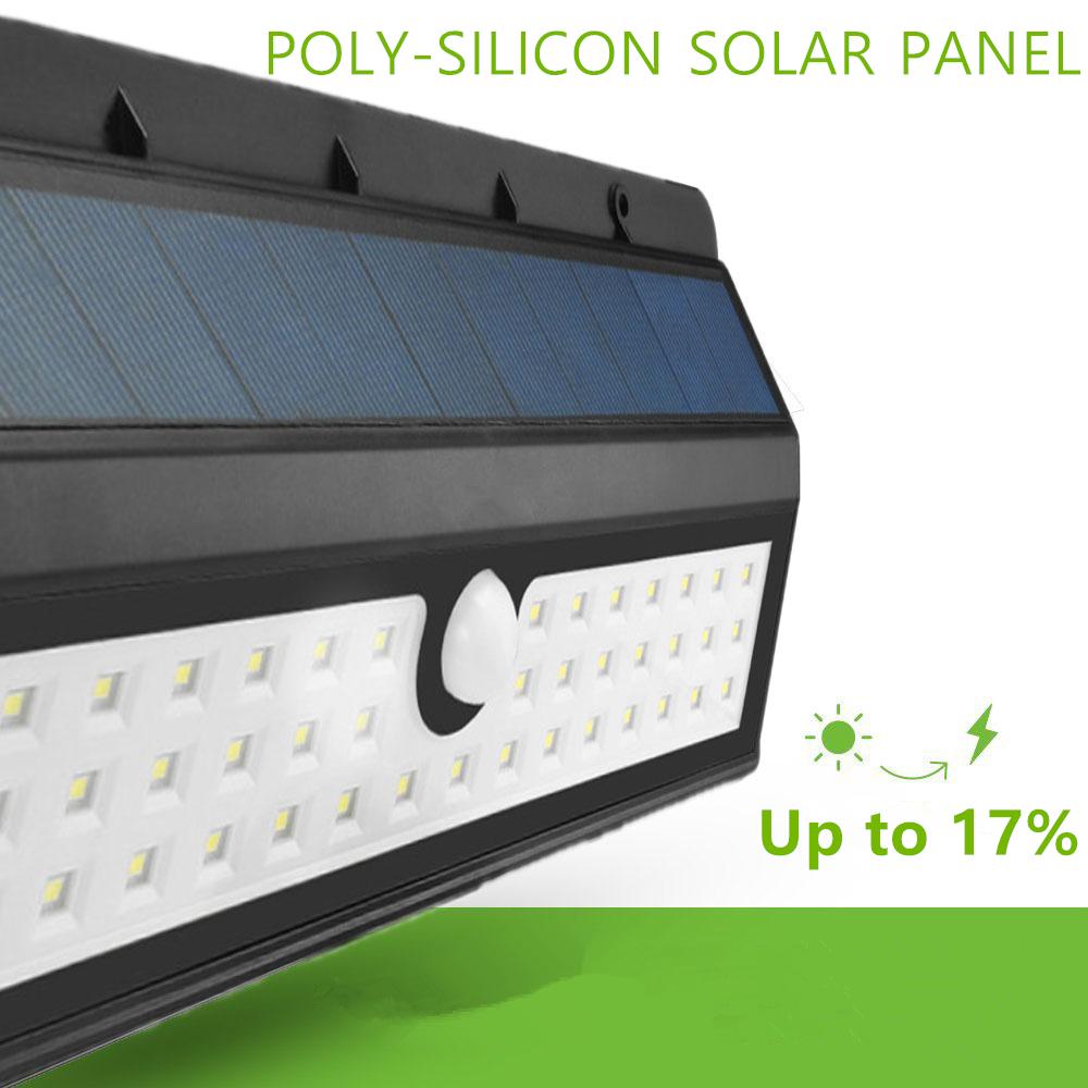 Wall Top Solar Lights : KINGSO Outdoor Solar Lights,Super Bright 44 LED Motion Sensor Light,Wireless Waterproof Patio ...