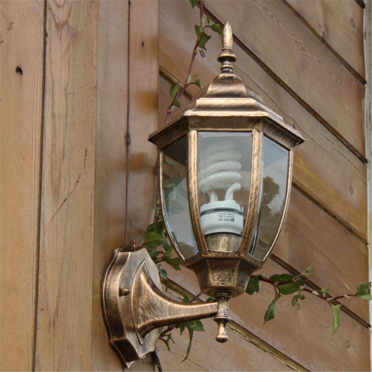 lampe ext rieur mur fixation bronze verre porche nouveau achat vente lampe ext rieur mur. Black Bedroom Furniture Sets. Home Design Ideas