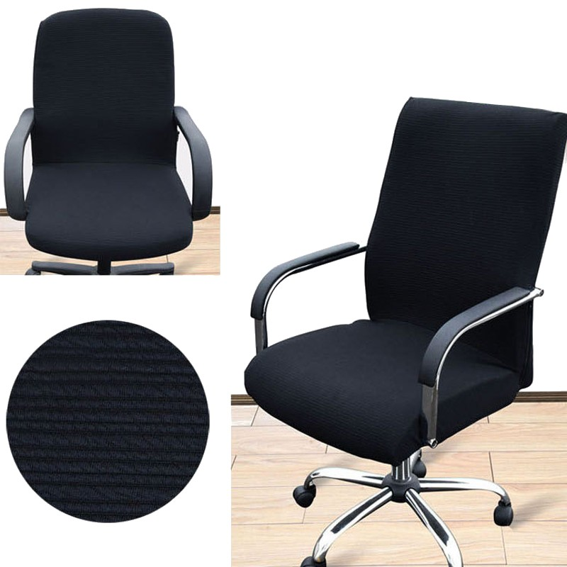 arm chair cover three sizes office computer chair cover side zipper