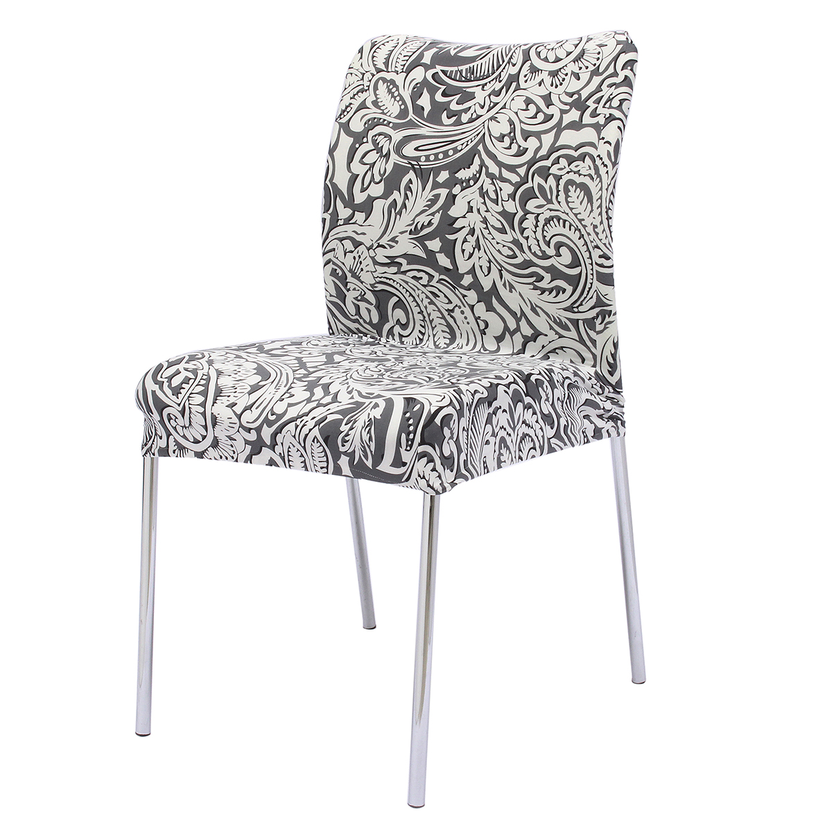 4 Style Stretch Soft Stool Seat Chair Cover Removable Room