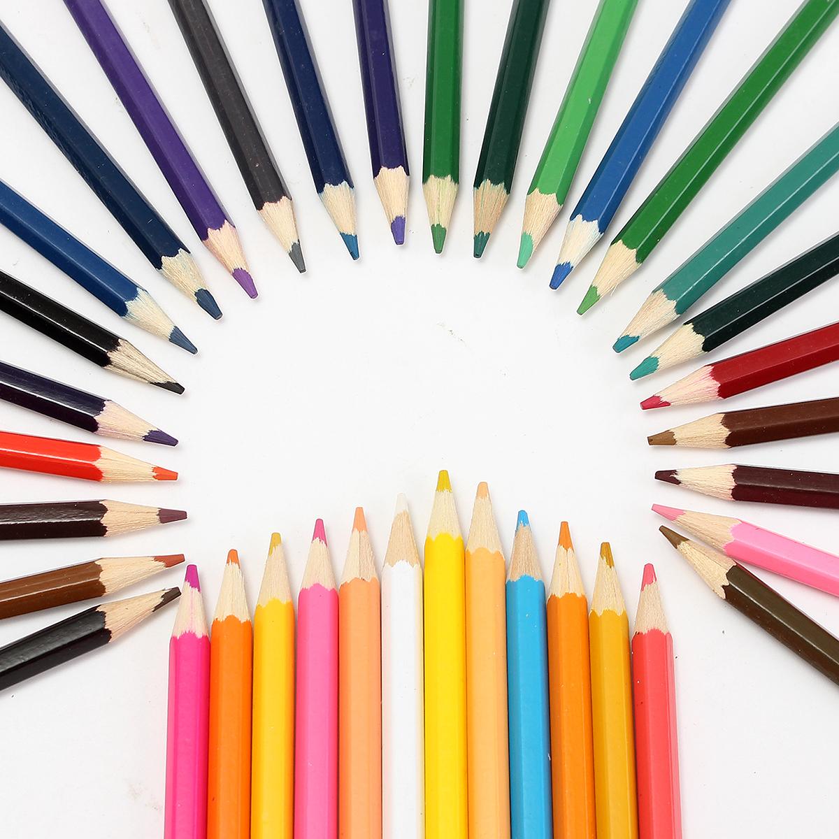 Avanc 72pcs Crayon De Couleur Dessin Cadeau Noël Enfant