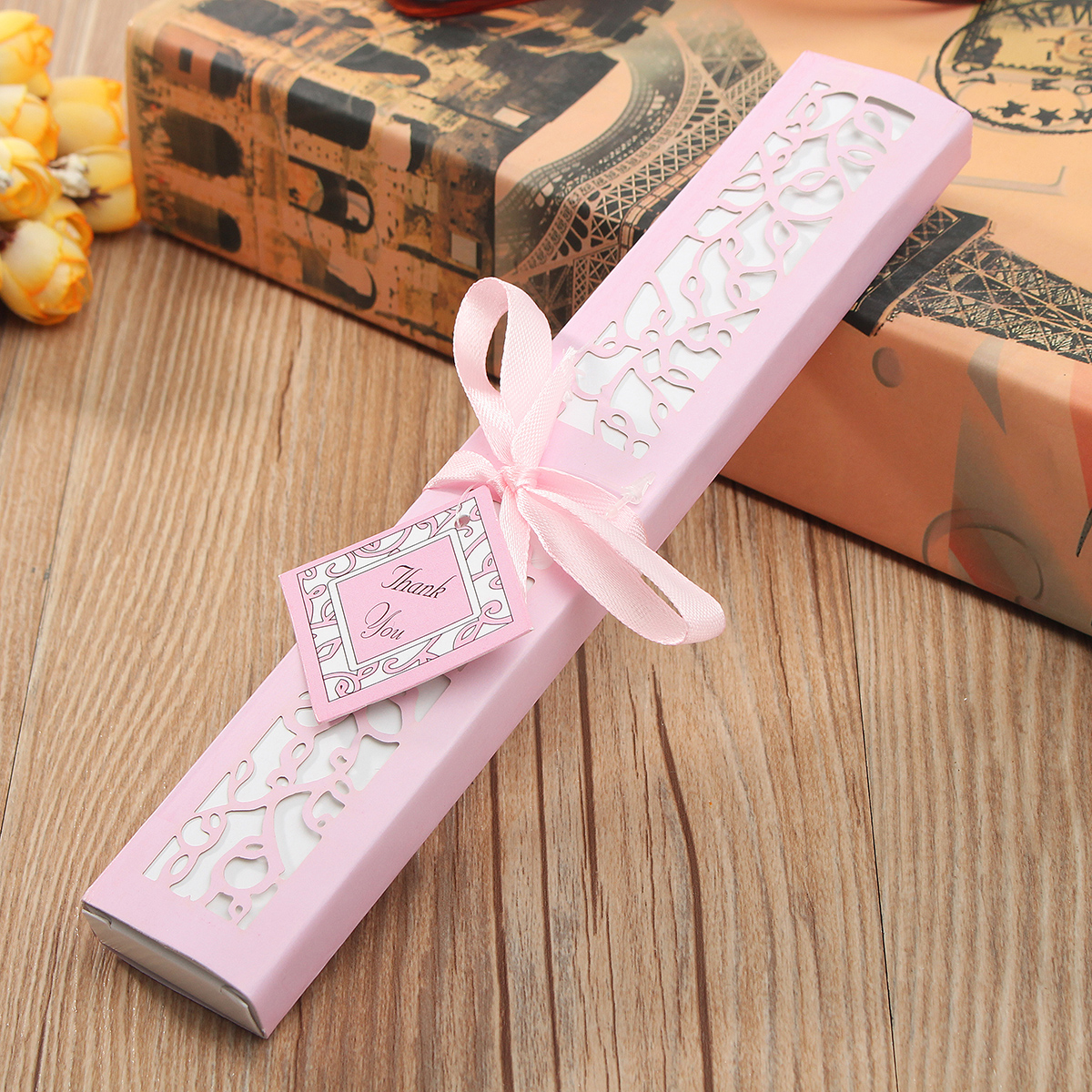 Wedding Gift Box Singapore : ... Bracelet Watch Jewelry Gift Box Case WeddingPackage Decor pink - Intl