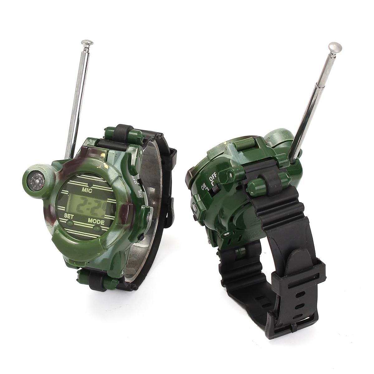 2pcs 7 en 1 montre bracelet digital talkie walkie boussole jouet enfant outdoors achat vente. Black Bedroom Furniture Sets. Home Design Ideas