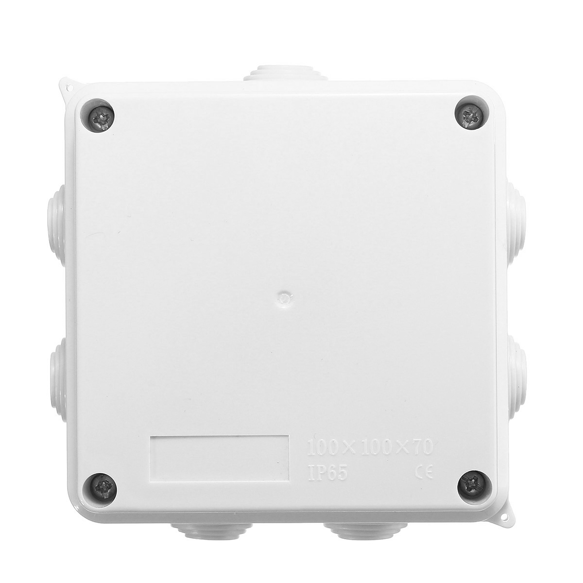 100x100x70mm Waterproof Ip65 Terminal Junction Project Box Outdoor Electrical Enclosure Case