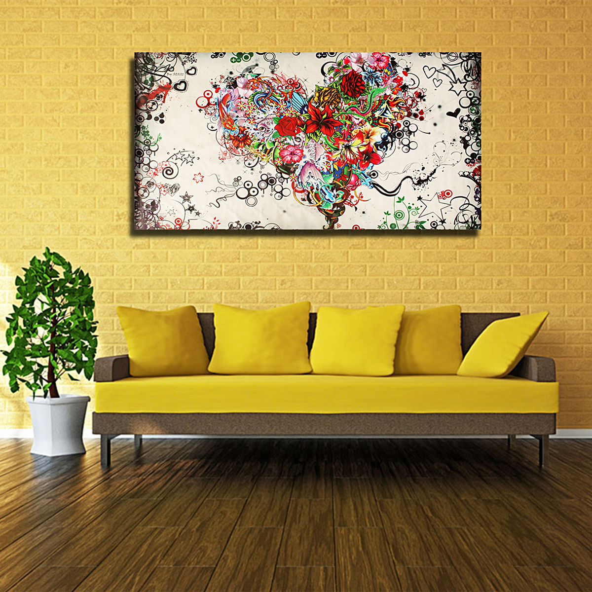 Living Room Paintings Art Large Modern Abstract Hand Painted Art Oil Painting Wall Decor