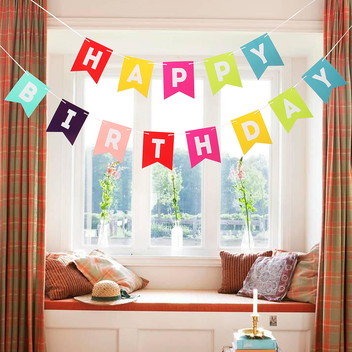 Banners For Bedrooms: New Banner Decor Baby HAPPY BIRTHDAY (end 3/16/2018 9:15 AM