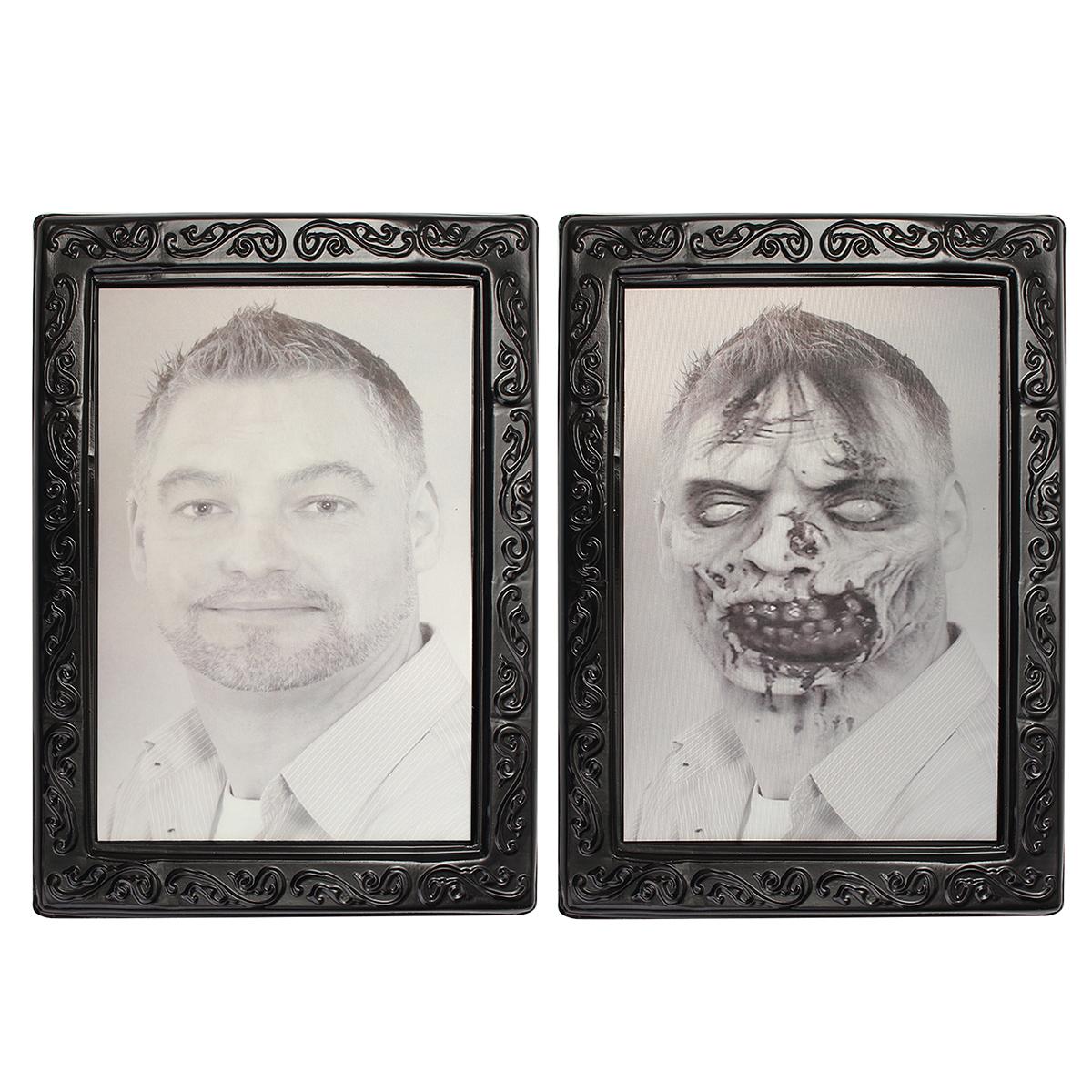 Tempsa 3d changer cadre photo homme horreur lenticulaire for Decoration maison horreur