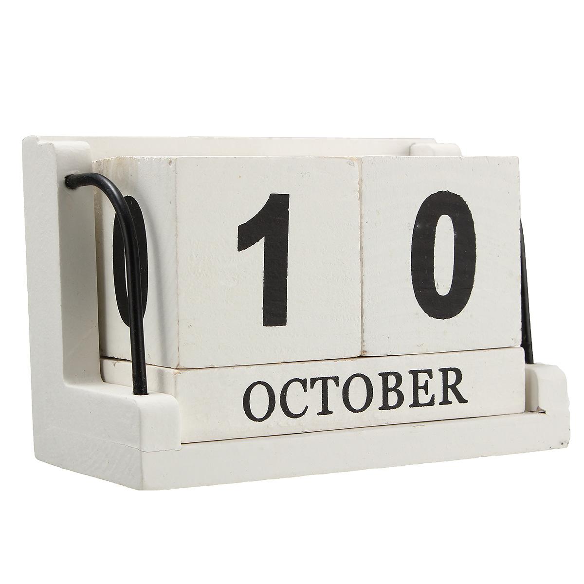 1pcs kalender ewiger kalender holz w rfel w rfelkalender. Black Bedroom Furniture Sets. Home Design Ideas