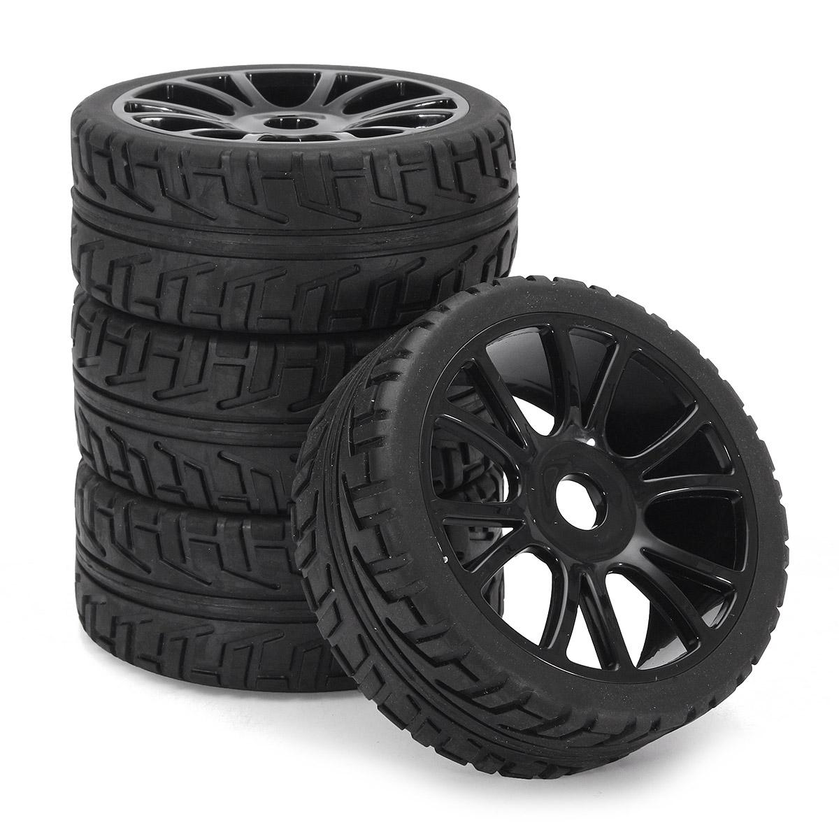 tempsa 4pcs 17mm caoutchouc jante de roue pneus dur. Black Bedroom Furniture Sets. Home Design Ideas
