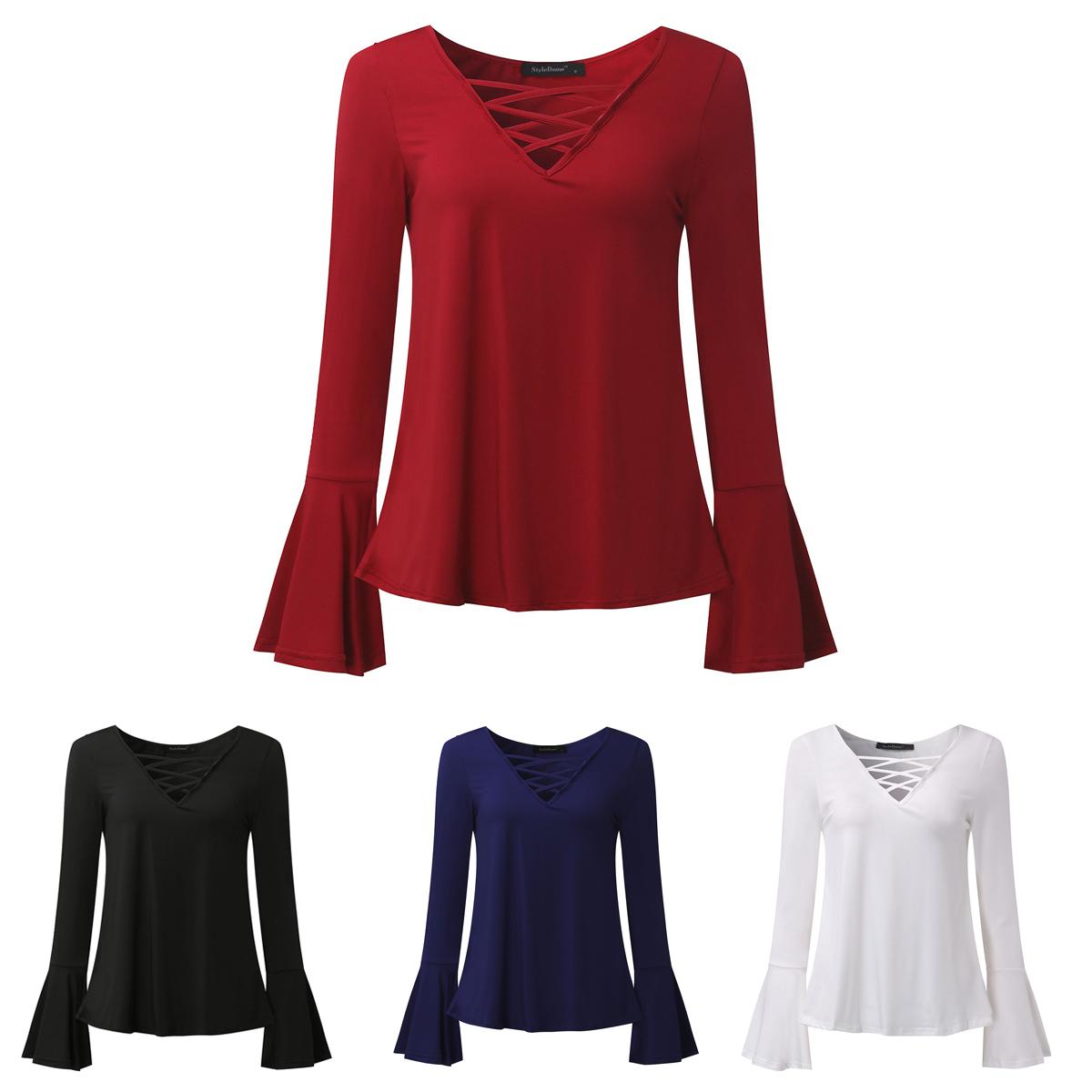 Buy & Sell Cheapest ZANZEA RENDA RENDA Best Quality Product Deals Source · Jenis Tops Warna Biru Putih Pucat Merah Anggur Hitam Paket termasuk 1 atasan