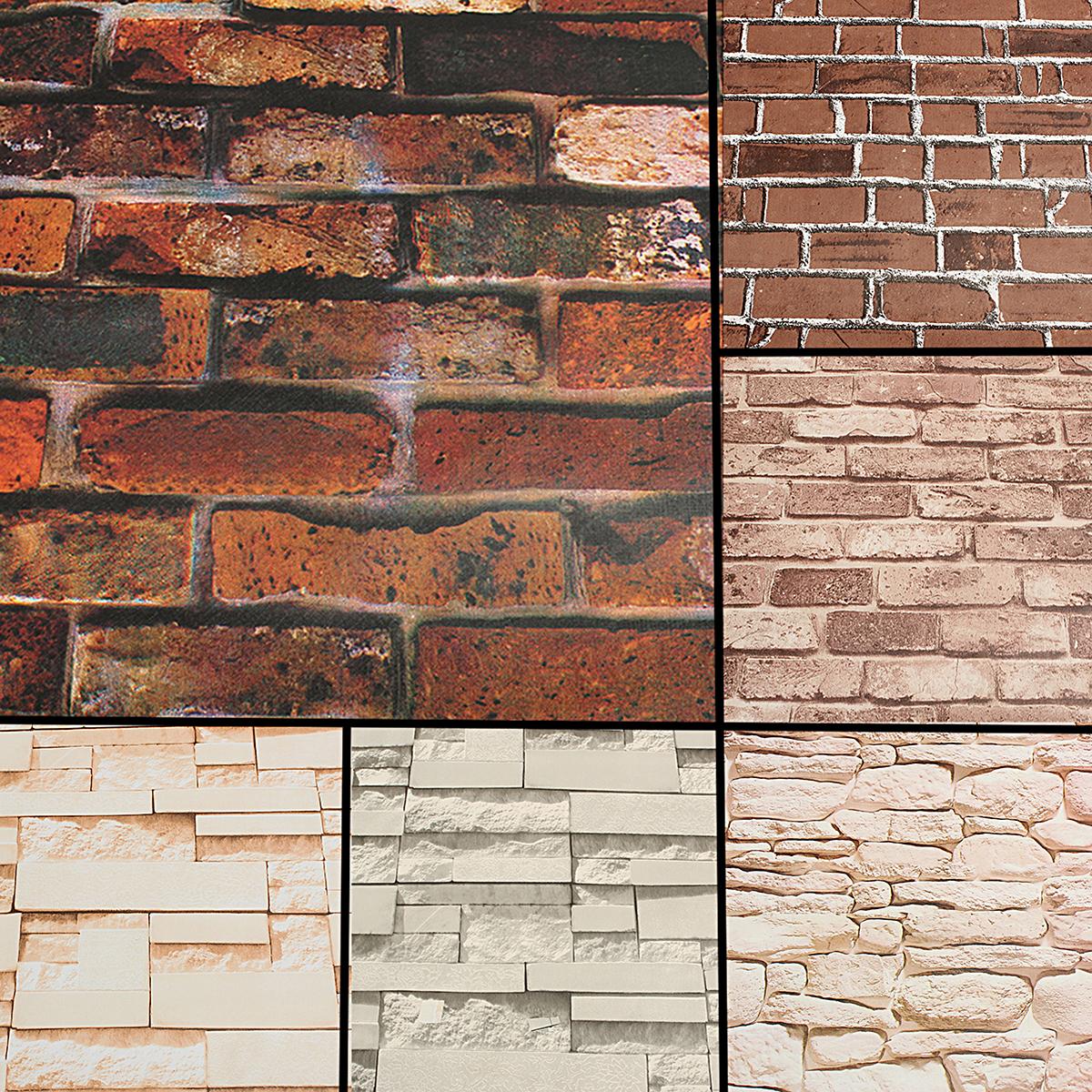 item specifics design brick pattern style modern size 451000cm 45 sqm material vinyl pattern self adhesive waterproof