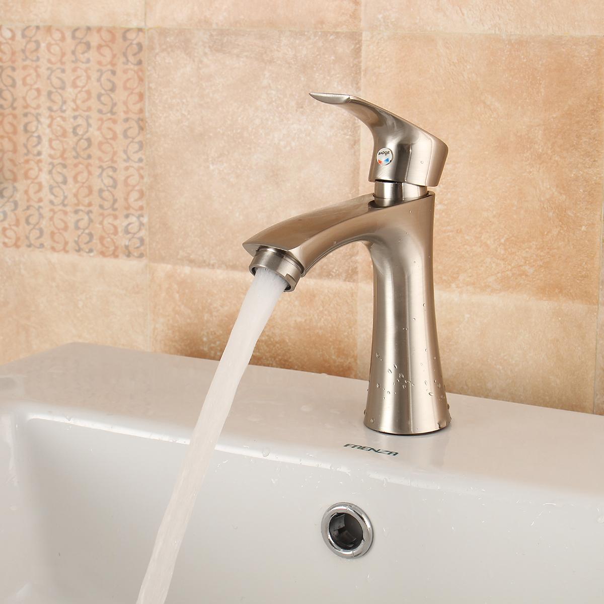 Kvik Mano Salle De Bain ~ tempsa robinet a eau froid en alliage de zinc pr lavabo cascade
