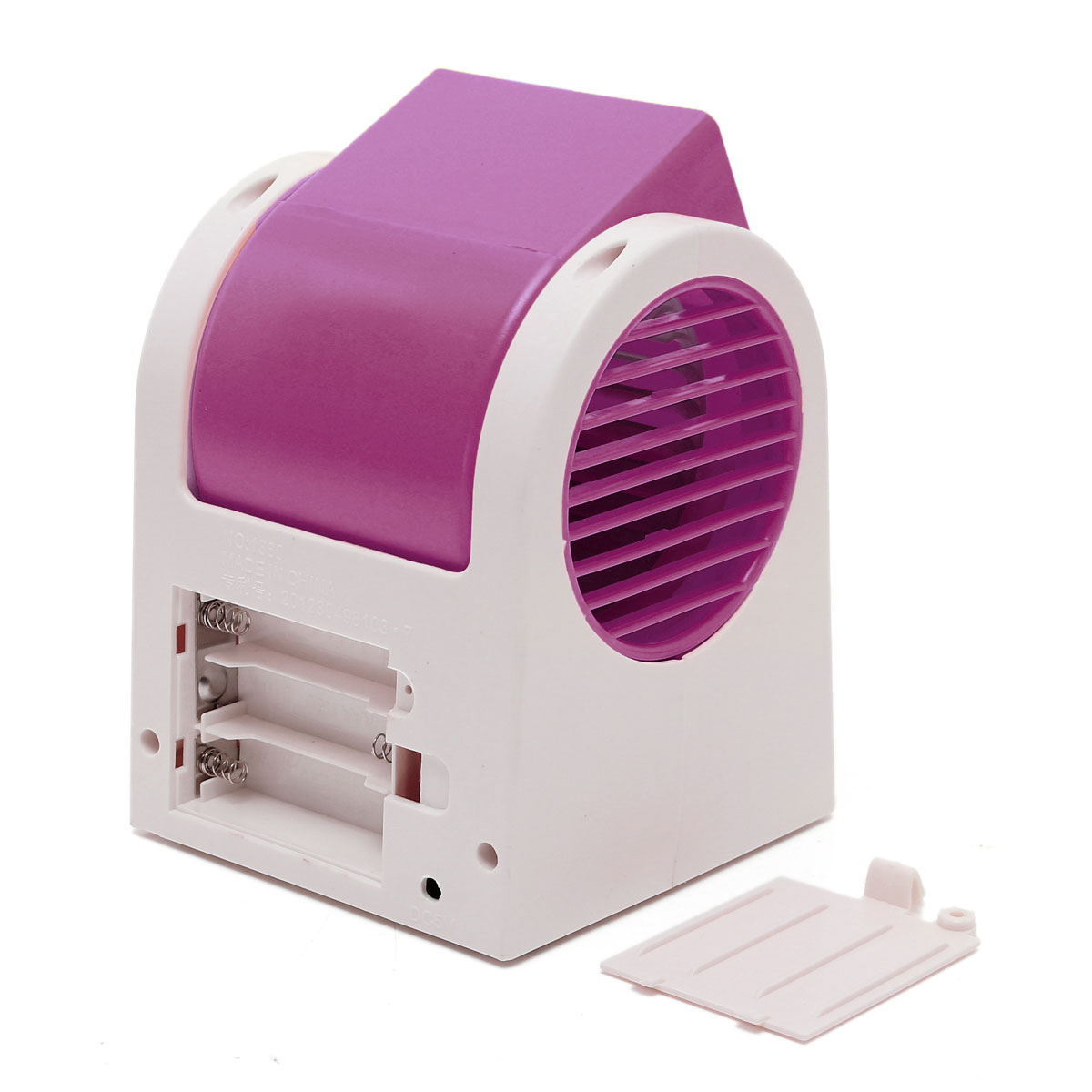 Mini Cooling Fan USB Battery Operated Portable Air Conditioner Cooler  #3D0C28